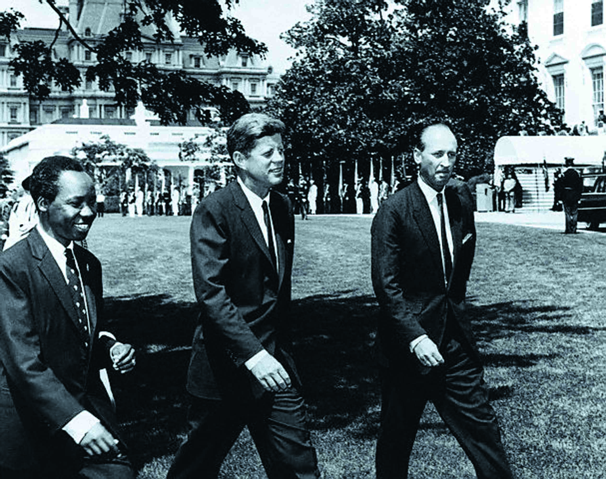 the-president-of-tangahyika-julius-k-nyerere-left-on-his-official-visit-to-the-kennedy-white-house-in-1963-tangahyika-united-with-zanzibar-in-1964-and-is-now-called-tanzania
